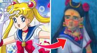 Sailor Moon se convierte en mexicana gracias al reto viral #SailorMoonRedraw