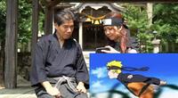 Ninja de verdad mira el anime de Naruto