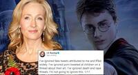 JK Rowling recibe