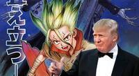Donald Trump aparece en el último capítulo del manga de Dr. Stone sorprendiendo a los lectores