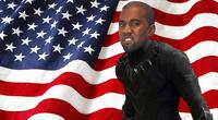 Kanye West señaló a Wakanda como el modelo a seguir para su gestión en La Casa Blanca de ganar las elecciones presidenciales de Estados Unidos. | Fuente: Composición.