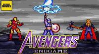 "Recrean batalla final de ""Avengers: Endgame"" en 16  bits  [VIDEO Y GALERIA]"