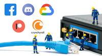 Algunas de las plataformas digitales y servicios más populares de la red están experimentando fallas técnicas.   Fuente: Composición.