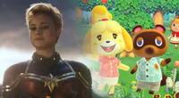 Protagonista de Capitana Marvel muestra su isla de Animal Crossing y revela quién es su vecino favorito (VIDEO)