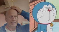 ¿Bruce Willis interpretando a Doraemon? Este divertido comercial japonés lo ha hecho posible (VIDEO)