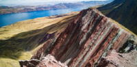 ¡El Perú no deja de sorprendernos! Descubren un nuevo atractivo turístico similar a la Montaña de 7 Colores (VIDEO)