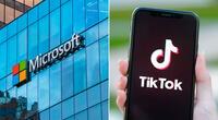 Microsoft ya está en conversaciones con ByteDance para adquirir las operaciones de TikTok en Estados Unidos, Canadá, Nueva Zelanda y Australia. | Fuente: Composición.
