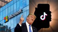 El presidente de Estados Unidos sigue ejerciendo presión sobre TikTok y esta vez impuso un tiempo límite para ByteDance. | Fuente: Composición.