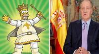 Los Simpson acierta una nueva predicción y esta vez con el Rey Juan Carlos I abandonando España
