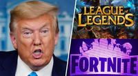 Donald Trump prohibirá 'Tencent', propietaria de League of Legends y accionista de Fortnite