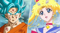 dragon ball, sailor moon