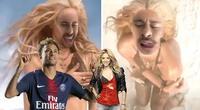 Neymar se transforma en Shakira y