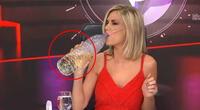 Denuncian a presentadora de TV que bebió dioxido de cloro en vivo (Vídeo)