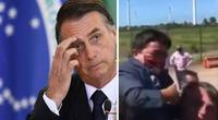 Bolsonaro carga a un enano creyendo que era un niño y vídeo se viraliza