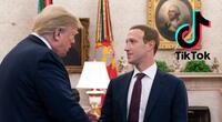 Según The Wall Street Journal, la reunión de Zuckerberg y Trump en 2019 habría iniciado la cacería de brujas en contra de TikTok por parte del Gobierno de Estados Unidos. | Fuente: Alamy.