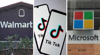 ¡Antes de la fecha límite! Walmart y Microsoft unirán fuerzas para comprar TikTok
