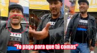 Hombre se rehusa a usar mascarilla y falta el respeto a policía