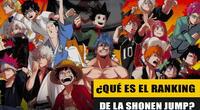 ¿Qué es el TOC o Ranking de popularidad de la Weekly Shonen Jump? y ¿cuál es su su finalidad?