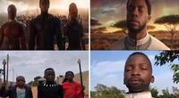 Niños nigerianos recrean 'Black Panther' y rinden tributo a Chadwick Boseman