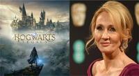 La polémica autora de la serie Harry Potter no estará involucrada con el nuevo videojuego. | Fuente: Composición.