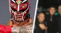Rey Mysterio luce su rostro sin máscara en foto inédita y se vuelve viral