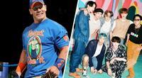 John Cena reveló el motivo por el que ama a BTS y las fans lo vuelven tendencia