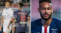 Neymar habría insultado a Hiroki Sakai.