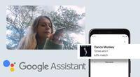 Google ha implementado esta nueva función a Assistant y solo necesitarás tararear o silbar una canción para poder encontrarla./Fuente: Google.