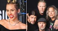 Miley Cyrus lanzará un álbum de covers de Metallica.