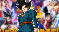 Super Dragon Ball Heroes póster goku jiren