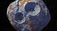 Psyche 16 posee una gran cantidad de minerales en su superficie y es por eso que vale más que la economía de todo nuestro planeta./Fuente: NASA.