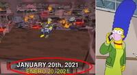 Predicciones 2021 según Los Simpson.