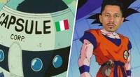 Dragon Ball: Crean divertido vídeo de Lapadula llegando a Perú tal como Goku al planeta Namek
