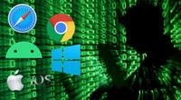 Los sistemas operativos y navegadores web más populares de Occidente sufrieron la increíble proeza de los hackers chinos./Fuente: Composición.