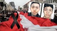 Las redes sociales se han unido para lamentar el asesinato de los dos jóvenes protestantes y condenar la represión policial./Fuente: Jorge Cerdán/La República