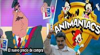 La nueva serie de Animaniacs presenta a Nicolás Maduro y la crisis económica de Venezuela