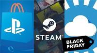 Las plataformas de distribución digital de videojuegos más populares del mercado han presentado sus ofertas de infarto por el Black Friday./Fuente: Composición.