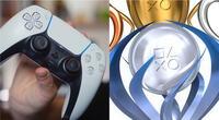 DualSense, el control oficial de PS5, puede grabar el sonido que el jugador realiza cuando obtiene un trofeo./Fuente: Composición.