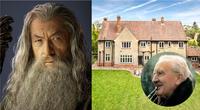 El actor que interpretó a Gandalf, así como otros miembros del elenco de las películas de El Señor de los Anillos, se han unido a la cruzada que busca salvar la casa de Tolkien y convertirla en un lugar dedicado a su vida y obra./Fuente: Composición.