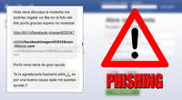 Denuncian campaña de phishing en Facebook.
