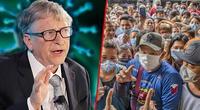 Bill Gates cree que en los próximos cuatro o seis meses de la pandemia se presentarán más contagios.