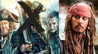 El popular actor que encarnó a Jack Sparrow en la saga no regresaría para futuras películas por sus problemas legales y reputación actual en Hollywood./Fuente: Composición.