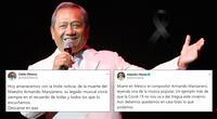 Armando Manzanero: muere el cantautor mexicano por covid-19.