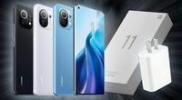 Xiaomi Mi 11 es el primer celular de la compañía que opta por no incluir cargador en su presentación convencional./Fuente: Etoobo.
