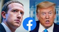 Mark Zuckerberg señaló que la cuenta de Donald Trump ha sido suspendida ya que su intención es la de provocar más violencia./Fuente: Composición.