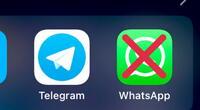 WhatsApp: Debido a las nuevas políticas, usuarios dicen que se van a Telegram