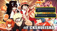 Las redes sociales estallan contra Shueisha por borrar contenido de anime y manga en internet