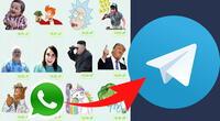 Descubre cómo pasar tus stickers favoritos de WhatsApp a Telegram