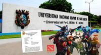 Sílabo del curso de Dota 2 que enseñará la UNMSM.