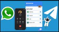 Novochat: el servicio de mensajería que junta Whatsapp y Telegram.